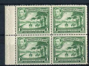 British Guiana KGVI 1938-46 1c green SG308a MNH booklet pane