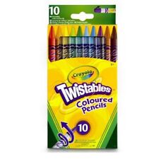 Crayola Twistables Coloured Pencils Crayons School Stationery Pack Of 10