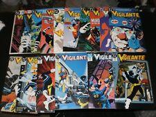 VIGILANTE COMICS LOT OF 16 1980'S