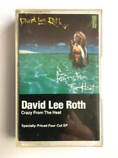 DAVID LEE ROTH - CRAZY FROM THEH HEAT - Cassette 925 222-4