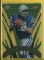 Peyton Manning 1999 Collector's Edge Masters Sentinel PREVIEW Card Colts Broncos