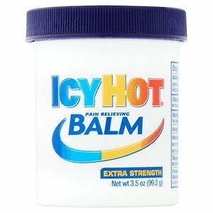 New Icy Hot Extra Strength Pain Relieving Balm 3.5 Oz.