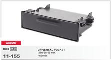 CARAV 11-155 1DIN Universal pocket with cover TOYOTA, NISSAN, MITSUBISHI, SUBARU