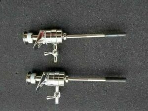 Stainless Steel Trocar With Cannula Set Of 2, Size 5 mm Storz Type Laparoscopic