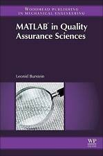 NEW Matlab® in Quality Assurance Sciences by Leonid Burstein