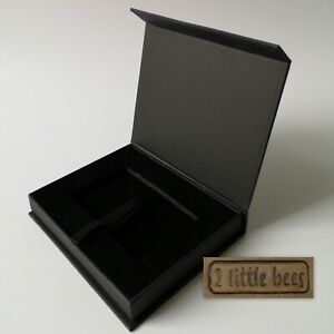 Black Gift Box  Magnetic Luxury Present Birthday Wedding Celebration Corporate
