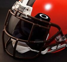 CLEVELAND BROWNS NFL Schutt EGOP Football Helmet Facemask/Faceguard (BROWN)