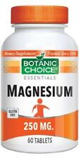 Botanic Choice Magnesium 250 mg - 60 Tablets