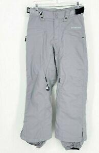 Bonfire Womens Snowboard Ski Winter Snow Pants Gray Small Insulated Waterproof