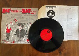 """RAT MUSIC FOR RAT PEOPLE VOL.1 1982 CD003 12"""" VINYL EX/EX US HARDCORE PUNK"""