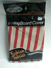 Vintage Fruit Of The Loom Ironing Board Cover Fashion Fabrics Nos Elastic Bound