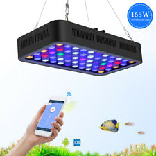 Marine Led Light WiFi & Manual Control 165W Aquarium Light or Reef Coral Fish
