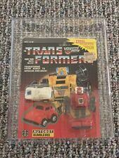 Transformers G1 Hasbro Bumblebee Red w/ Minispy MOSC AFA! (USA Seller)