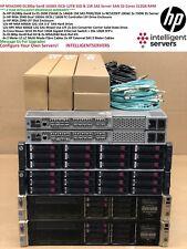 HP MSA2040 10Gbit iSCSI 12TB SSD & 15K SAS DL380p Gen8 512GB 32 Core Server SAN