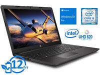 """HP 250 G7, 15"""" HD, i5-8265U, 16GB RAM, 256GB SSD, Windows 10 Pro"""