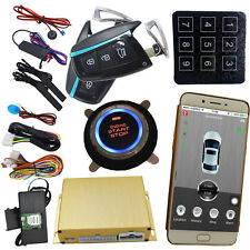 car gps online tracking car alarm security system smart key keyless entry