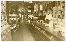 RPPC NY Ithaca Store Interior 1909  Tompkins County