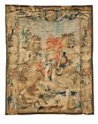 Historical Battle Scene Flemish Wool Tapestry 17th Century (10ft 2in X 9ft 9in)