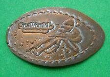 SeaWorld elongated penny San Diego Ca Usa cent Octopus souvenir coin