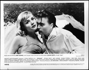 CRY BABY - 1990 - Original 8x10 Glossy Photo - JOHNNY DEPP, AMY LOCANE