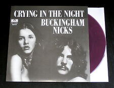 Buckingham Nicks Crying In The Night 45 DJ PURPLE VINYL Fleetwood Mac Promo NEW