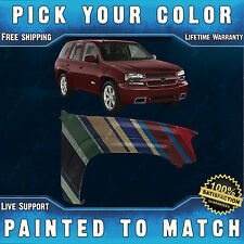 NEW Painted To Match - Front Right Fender 2002-2009 Chevy Chevrolet Trailblazer