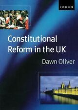 Constitutional Reform In The United Kingdom,Dawn Oliver