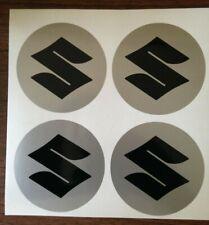4x 50 mm fits suzuki bk wheel STICKERS center badge centre trim cap hub alloy