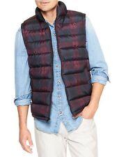 NWT GAP MEN XL Black  Warmest Puffer Vest Sleeveless Coat Zip Jacket $49