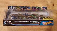 Hot Wheels Batman & Rogues Gallery 5 Pack-NIB