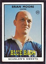 1968 SCANLENS SERIES 2 RUGBY LEAGUE-#22 BRIAN MOORE