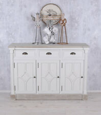 Sideboard Cottage Dresser White Kitchen Cupboard Shabby Apothecary Cabinet