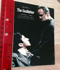 SUPER rare---THE GODFATHER-/RARE POSTCARD - NOT USED-HOLLYWOOD COLLECTIBLE