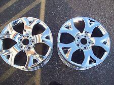 """BMW X3 Wheels Rims 04 05 06 2007 2008 2009 2010 18"""" Front Chrome 2 Rims #59453"""