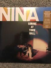 Nina Simone At Town Hall-Deluxe Gatefold 180 Gr Lp Vinilo Nuevo 2017