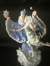 "Marjorie Sarnat San Francisco Music Box Co ""Snow Magic Old Jack Frost"""