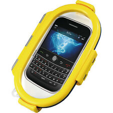Aryca Whirl Waterproof Push Button Phone Protective Case (Yellow) WS6Y