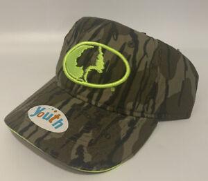 Mossy Oak Youth Camo Hat Adjustable
