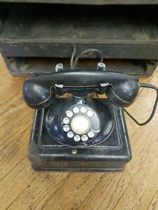Vintage Western Electric Bell Telephone Rotary Dial Phone