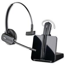 Plantronics CS540A Wireless Convertible Headset with 3 NEW Earloops & 1 Headband