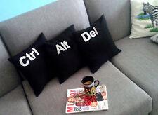 BCAD - 3 pcs-set : Ctrl, Alt, Del cushion covers, pillow cases - Two & Half Men
