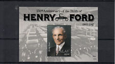 Palau 2013 MNH Henry Ford 150th Anniv Birth 1v S/S People Cars Automobiles