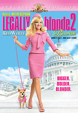 Legally Blonde 2: Red, White and Blonde (DVD, 2008, Canadian)