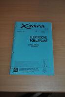 Werkstatthandbuch CITROEN Xsara Elektrische Schaltpläne Linkslenkung 06/1999
