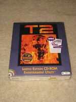 NEW FACTORY SEALED PC GAME T2 LIMITED EDITION CD ROM
