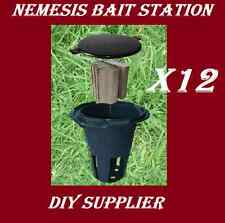 12 NEMESIS termite monitor bait station for termite treatment and inspection