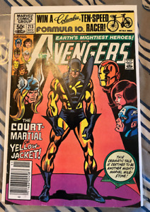 🔥AVENGERS #213 DOMESTIC VIOLENCE ISSUE  NEWSSTAND VARIANT MARVEL 1981 NICE!