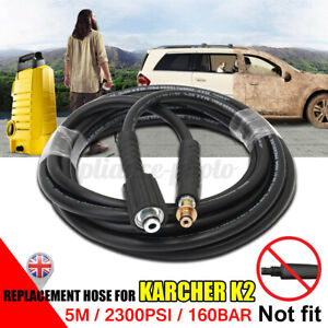 5M For Karcher K2 High Pressure Hose Washer Water Cleaning Pipe Replacement UK