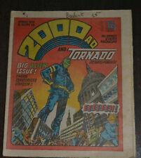2000AD f/ Judge Dredd prog #129 CLASSIC Ezquerra COVER Tornado