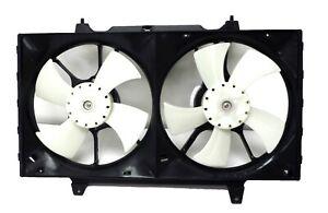 CF2011070 Radiator Dual Cooling Fan 1993-1997 Nissan Altima 2.4L
